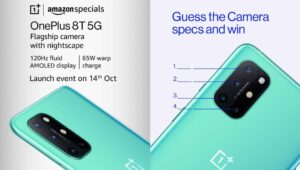 What's The Primary Lens Resolution In MP? OnePlus 8T Quiz