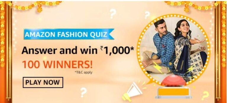 Which kind of clothing item does 9 yards refer to - Amazon Fashion Quiz
