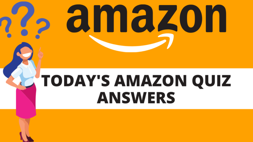 Daily Amazon Quiz Answers
