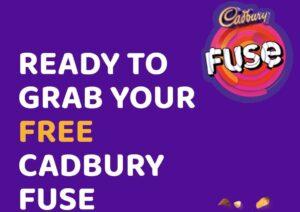 Free Cadbury Fuse Offer Banner