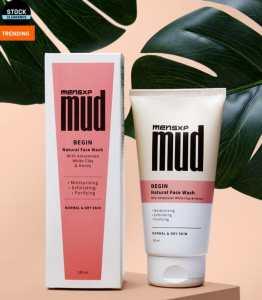 MENSXP Mud Natural Facewash 150ml For Free