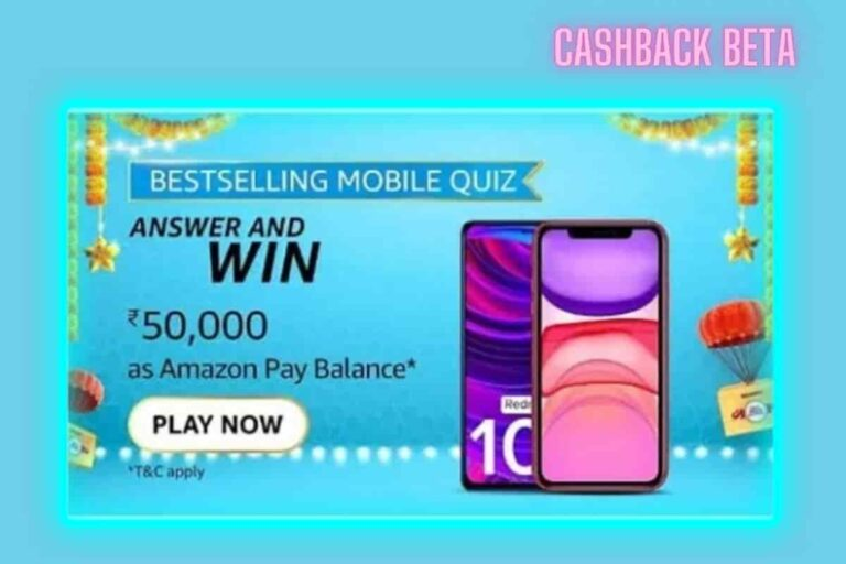 amazon best selling mobile quiz answers